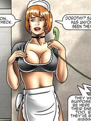 Breathtaking toon porn comics about the dirtiest humiliation and chicks submission. the slave factory by feather